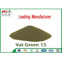 Buy cheap Professional Indigo Vat Dye C I Vat Green 13 indigo Olive MW Synthetic Indigo Dye product