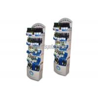 Buy cheap Drinking Wine POS Cardboard Display Stands 5 Round Shelf Silver False Base product