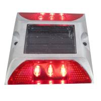 Buy cheap Die Casting Aluminum Solar LED Road Stud 6 LEDS Powered By Mono Crystalline Solar Panel product