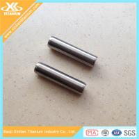 High Precision Inch Titanium Fasteners Dowel Pins With Plain Finish