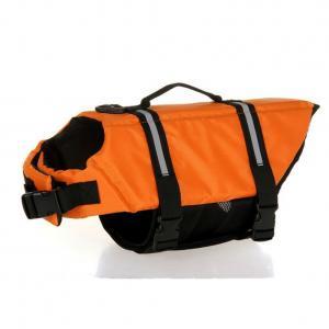 Buy cheap Custom  Lightweight Dog Life Vest Orange / Neoprene Dog Hunting Vest product