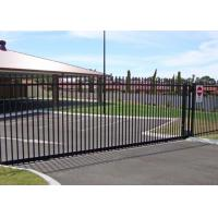 Buy cheap Residential Automatic Sliding Gates For Driveways Hot Dipped Galvanized Treatment product