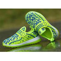 Buy cheap Anti Kicking Fashion Little Kids Shoes Little Boys Sneakers Fly Woven Flyknit Mesh Upper product