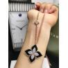 Buy cheap 18K VENETIAN PRINCESS MEDIUM FLOWER BLACK JADE & DIAMOND NECKLACE from wholesalers
