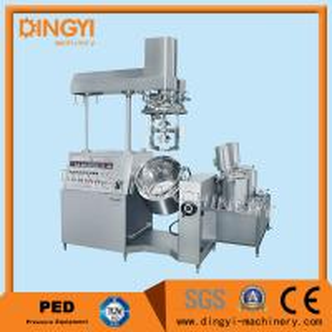 Automatic Cream Vacuum Emulsifying MachineZRJ-50L Hydraulic Lifting System
