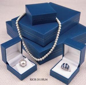 China hot-sales leatherette jewelry box /Plastic Jewelry Case/jewelry box on sale