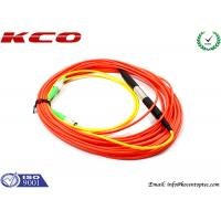 China FC/APC to FC/APC Single Mode Fiber Patch Cable Simplex Mode Conditioning on sale