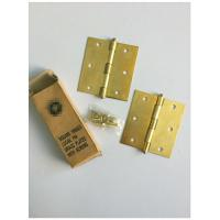 Buy cheap Square Type 4 Inch Solid Brass Door Hinges Bb Print Loose Pin Easy Installation product