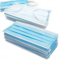 Buy cheap Easy Breathing 3 Ply Disposable Mask Dust Proof Air Pollution Protection Mask product