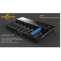 Buy cheap GYRFALCON All - 88 Smart Battery Charger  Eight slot charger/AU,EU,US,UK plug product