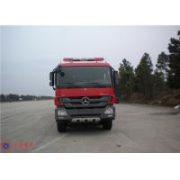 Mercedes Chassis Fire Fighting Vehicles Monitor Flow 100L/S Overturning Type Cab