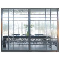 Buy cheap Metal Room Dividers With Glass, Modern Heavy Duty Sliding Door For Wardrobe, Office product