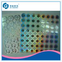 Buy cheap 2D / 3D Custom Hologram Stickers , Glossy Laser Labels For Packaging product