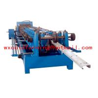 Buy cheap High Frequency PLC CZ Purlin Roll Former with Gear Box Transmission product