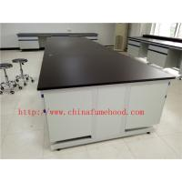 Buy cheap 3750 mm Protecting  Corrosion / Acid / alkali  Steel Wood Lab Furniture / Science Lab Casework product