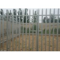 Buy cheap Hot Dipped Galvanized Metal Palisade Fencing For Garden Decoration , 2.75m Height product
