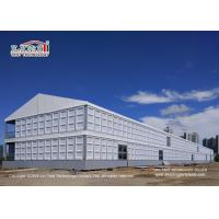 Buy cheap Fire Retardant And Removable Double Decker Tent With Soft PVC Fabric Wall product