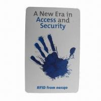 Buy cheap HF and UHF RFID Combination Card, Ideal for Campus, Office, Club and ID Card product