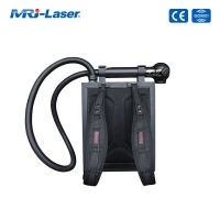 Buy cheap 100W Backpack Portable Laser Cleaning Rust Removal Machine product