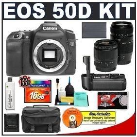 China Wholesale Price Canon EOS 50D Digital SLR Camera Body + Canon BG-E2N Grip + Tamr on sale