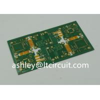 Buy cheap 4 Layer FR4 Polymide Rigid Flexible PCB IC Controller Gold Plating product