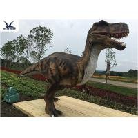 Buy cheap Life Like Mechanical Outdoor Dinosaur Statues Foreleg Movement / Remote Control from wholesalers