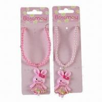 Buy cheap Children's Jewelry, Various Designs are Available, OEM Orders are Welcome product