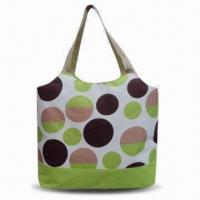 China Large Shopping Bag with Cooler Bag Inside and Various Printing, Made of 600D Polyester on sale