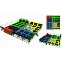 China 357M2 Children Trampoline Park Fashion Style High Quality Indoor Trampoline Park with Foam Pit for Kids and Adults on sale