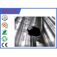 Buy cheap 28 MM Outer Dia Extruded Aluminium Tube Coach Interior Trim Part With 6063 Material product