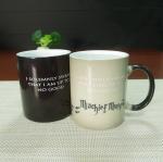 China Harry potter full heat heat activated coffee mug heat change mug wholesale