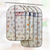Buy cheap Custom Fabric Zippered Hanging Garment Bags Visible Window Self - Adhesive Seal product