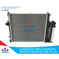 Eco Friendly BMW Aluminum Radiator / BMW Car Radiator 132mm Core Thickness