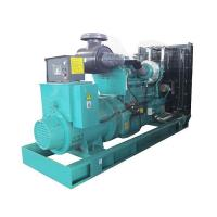 Buy cheap Open Type Diesel Generator 500KVA Cummins Power KTA19-G3 50Hz 3 Phase product