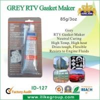 Buy cheap Neutral Curing Grey RTV Gasket Maker , Flexible Resist To Engine Fluids product