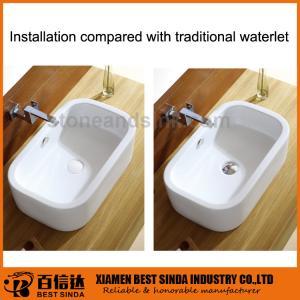 Buy cheap Égouttoir automatique extérieur en céramique de bassin de nouvelle conception pour la salle de bains product