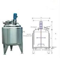 Buy cheap Customizable high speed  Energy - Saving Vertical 1000L Jam, Juice Stainless Steel Agitator product