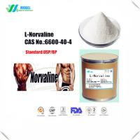 China Crystalline L Norvaline Powder , Essential Amino Acids Supplement CAS 6600 40 4 on sale