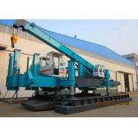 Buy cheap 460T-1200T Hydraulic Static Pile Driver , Foundation Drilling Machine For Construction With No Pollution product