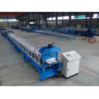 Buy cheap Automatic Standing Seam Profile Roof Roll Forming Machine 16 Forming Stations product