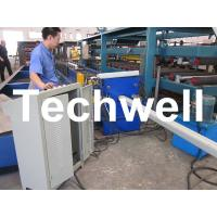 Buy cheap PLC Frequency Control System Rainspout Roll Forming Machine for Rainwater Downpipe product