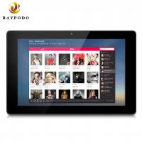 Wall Mounting Android Tablet Industrial Touch Screen Monitor Raypodo 10.1'' With for sale