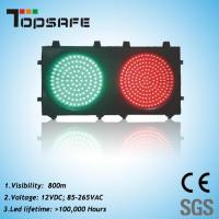 Buy cheap 200mm (8 inches) Red & Green Traffic Signal Light (TP-JD200-3-202) product