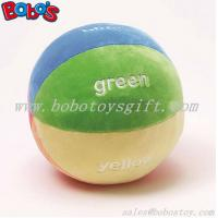 """Buy cheap 5.9""""Soft Colorful Plush Baby Ball Toy Baby Educational Rattle Toy product"""