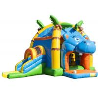 Buy cheap Attractive Inflatable Toddler Bounce House With Slide , Commercial Inflatable Jump House product