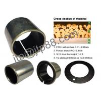 Buy cheap SF-1W Flanged Sleeve Bushing , Oil Impregnated Bronze Bushings For Toyota product