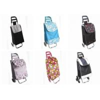 Buy cheap folding shopping trolley bag with two wheels product
