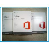 Microsoft Office 2016 Home And Student PKC Retailbox NO Disc 32 BIT 64 BIT