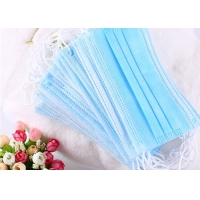 Buy cheap Disposable Filter 3 Ply Lightweight Anti Pollution Earloop Face Mask product