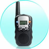 Buy cheap 470MHZ Handheld Battery powered 10KHz police walkie talkie with Flashlight product